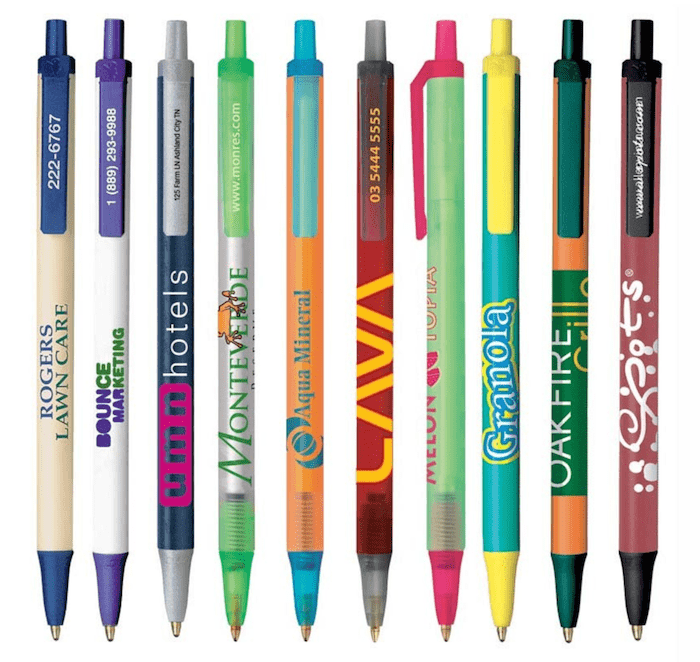 custom bic logo pens