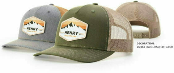 custom five panel trucker