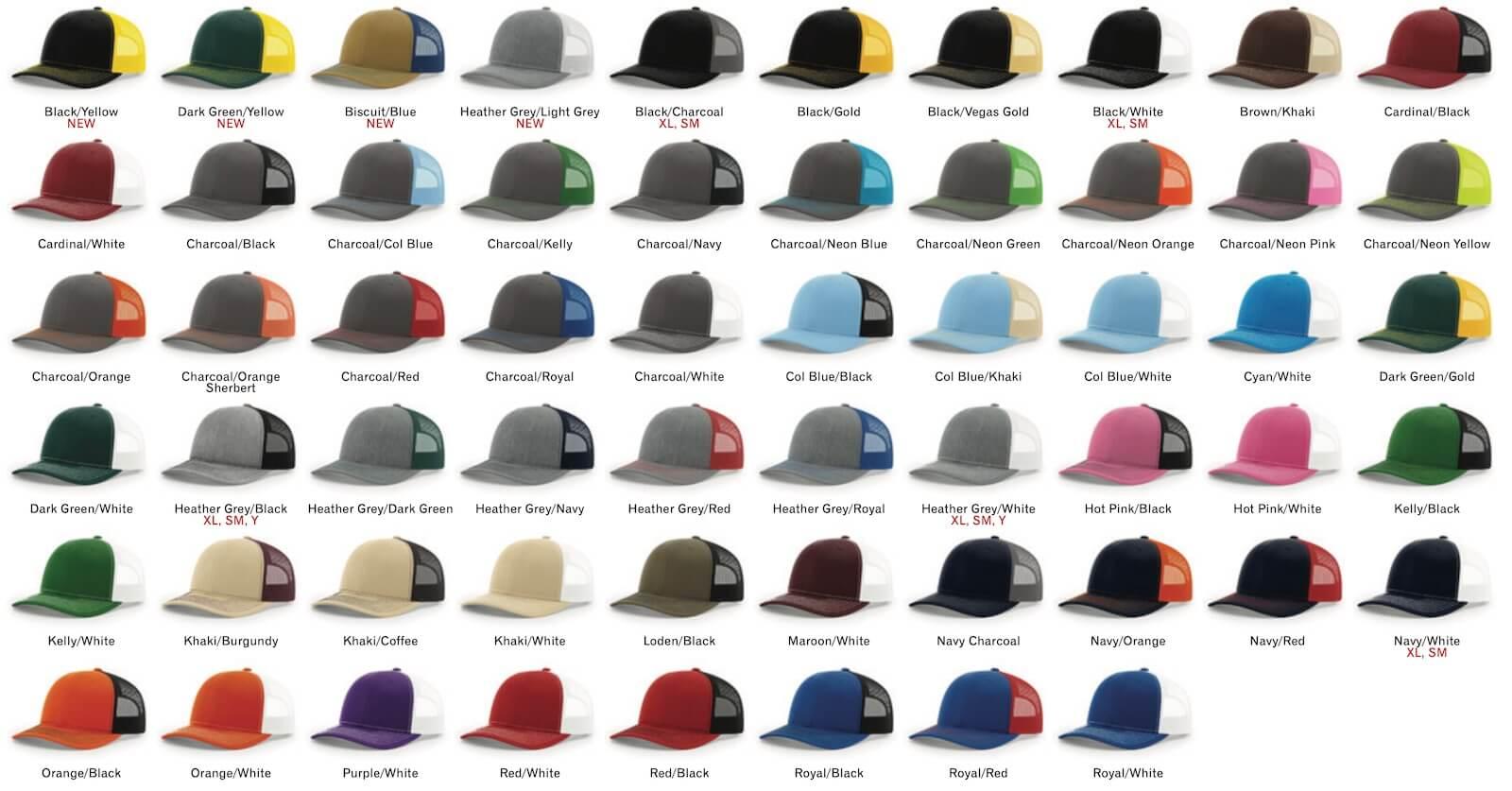 112 split colors