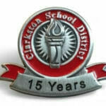 15 year award pin