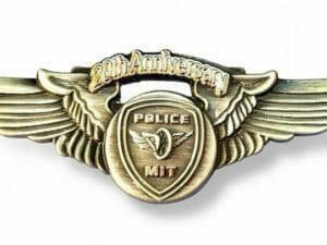 police pin custom