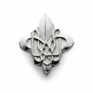 3d cast fleur de lis pin
