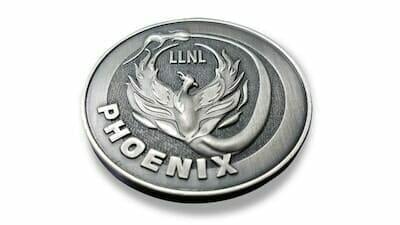 3d phoenix coin
