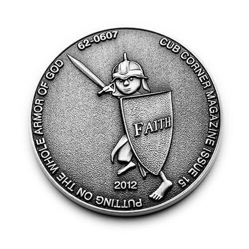 3d club coin