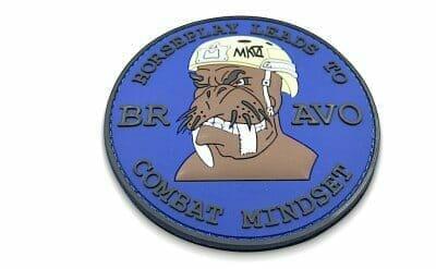 3d military pvc patch
