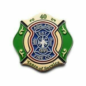 Lapel pin for Ashland Fire Company