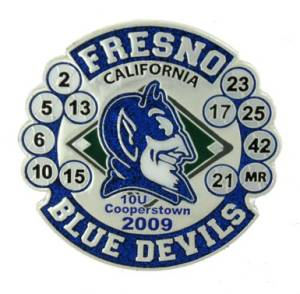 Fresno Blue Devils Trading Pin