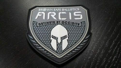 trojan helmet company patch