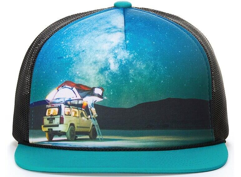 full color sublimation hat
