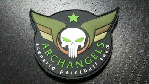 Arch Angel PVC Patch