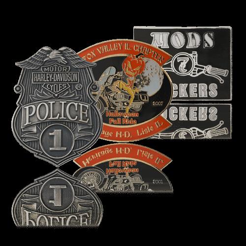 Biker and Motorcycle Pins