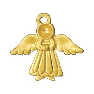 angel religious charm back