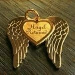 Angel Winged Custom Charm