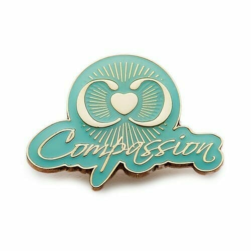 compassion pins for cancer awareness