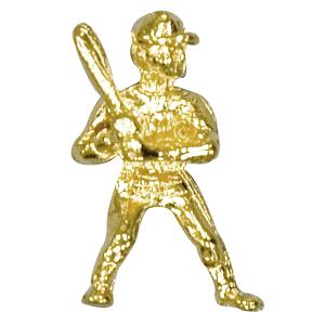 baseball player lapel pin