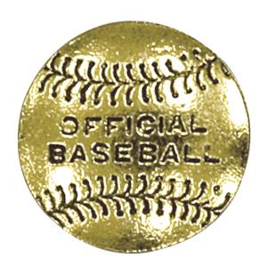 baseball lapel pin