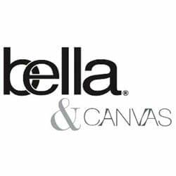 bella canvas shirt logo