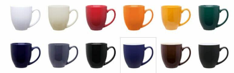 bistro mug colors
