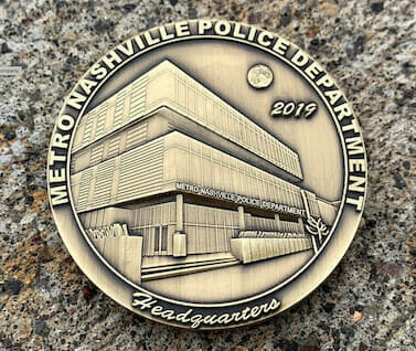 police department challenge coin