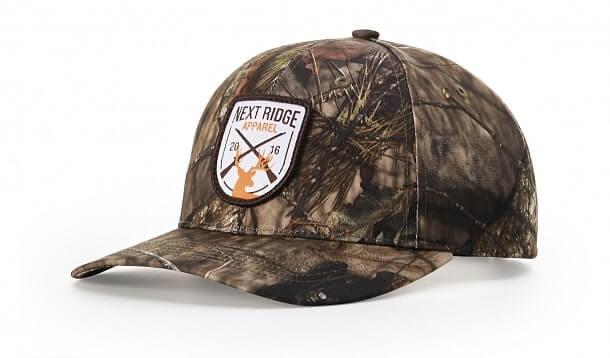 custom 843 camo richardson hat