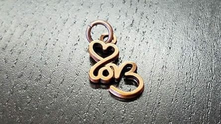 cast charms: love logo