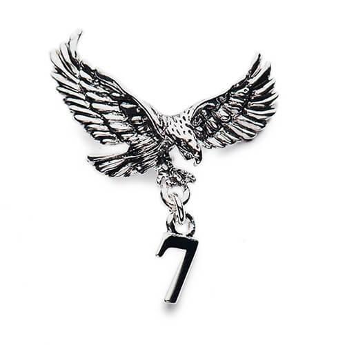 Customized eagle charm