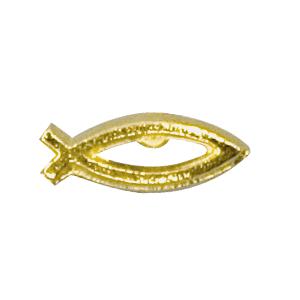 Christian symbol lapel pin