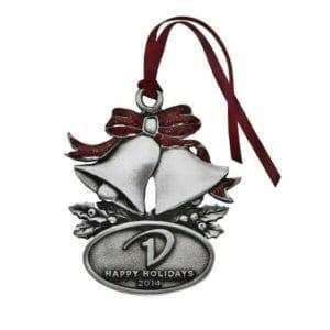 holiday bells custom ornament
