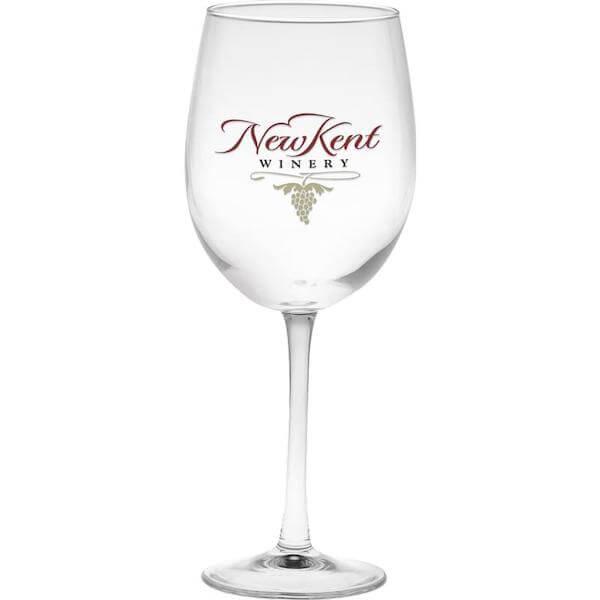 company wine glass