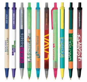custom bic clic stic logo pen