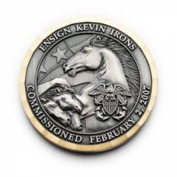 Commissioned recognition challene coins