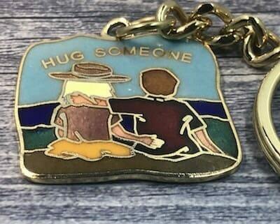 custom cloisonne keychains