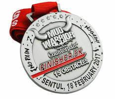 custom race medal