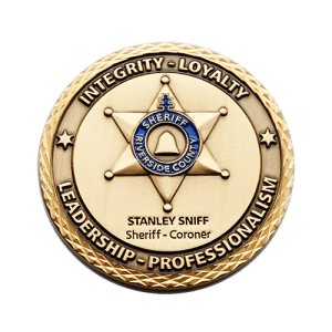 sheriff law enforcement coin