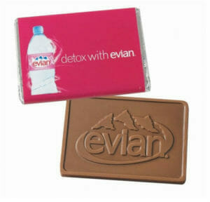 custom logo chocolate