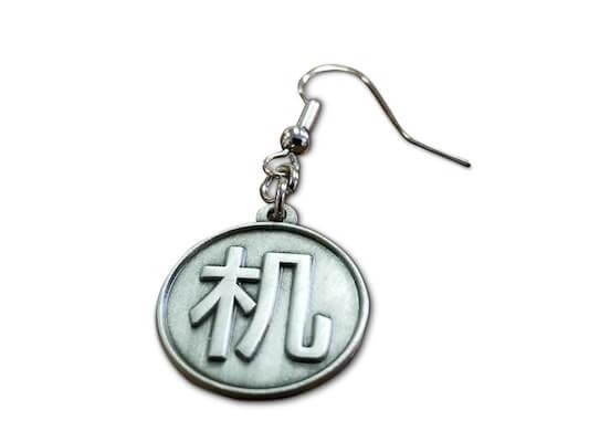 custom logo earrings