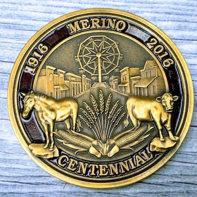 3d Cast Coin