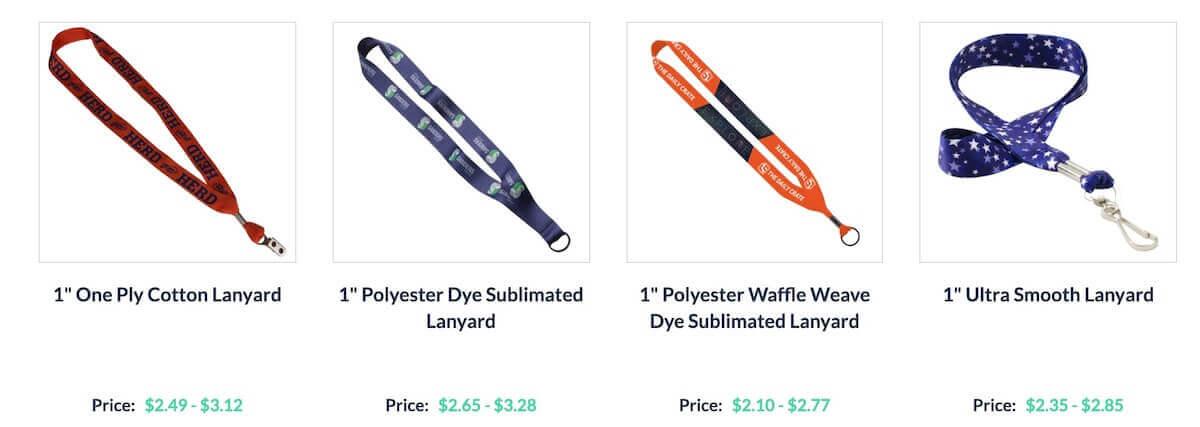 customized lanyards