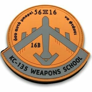 weapons school patch design