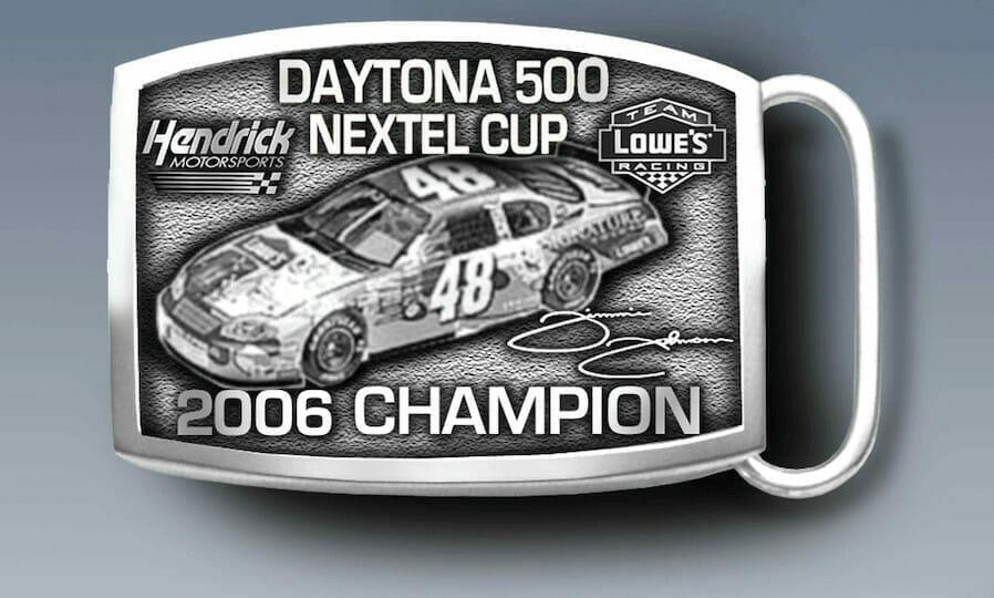 custom racing buckle
