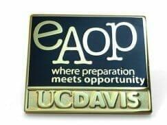 custom designed uc davis university pin