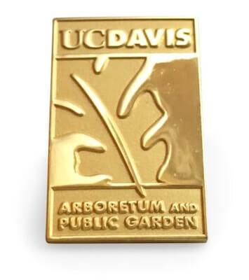 custom uc davis school pin