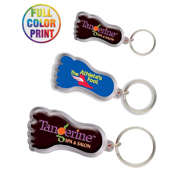 custom shaped acrylic keychains