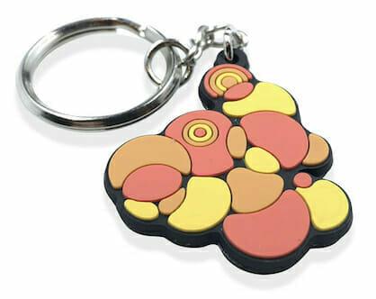 2d keychain design