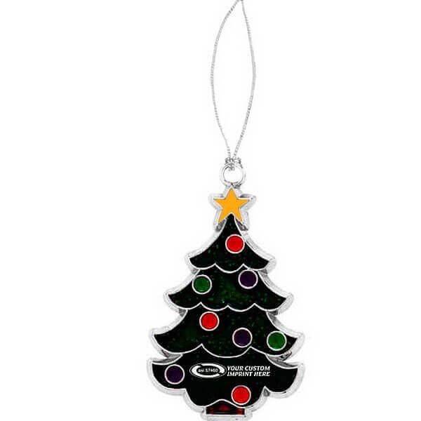 enamel tree ornament
