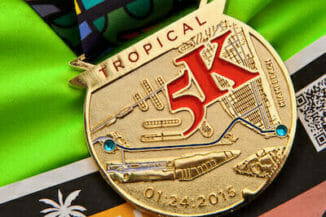 customized 5k medal