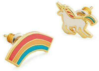 enamel earrings custom