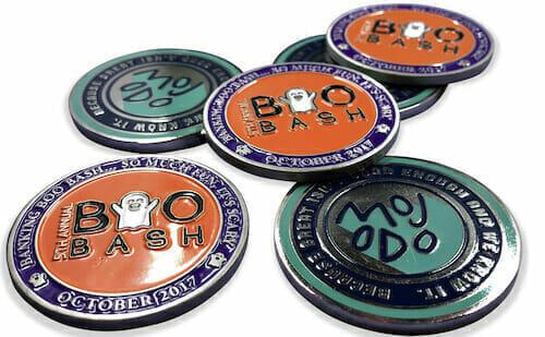 custrom enamel coins