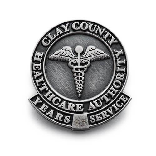die struck nursing pin