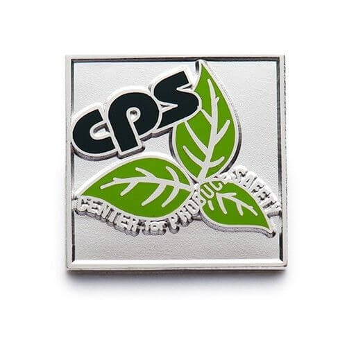 enamel company pin
